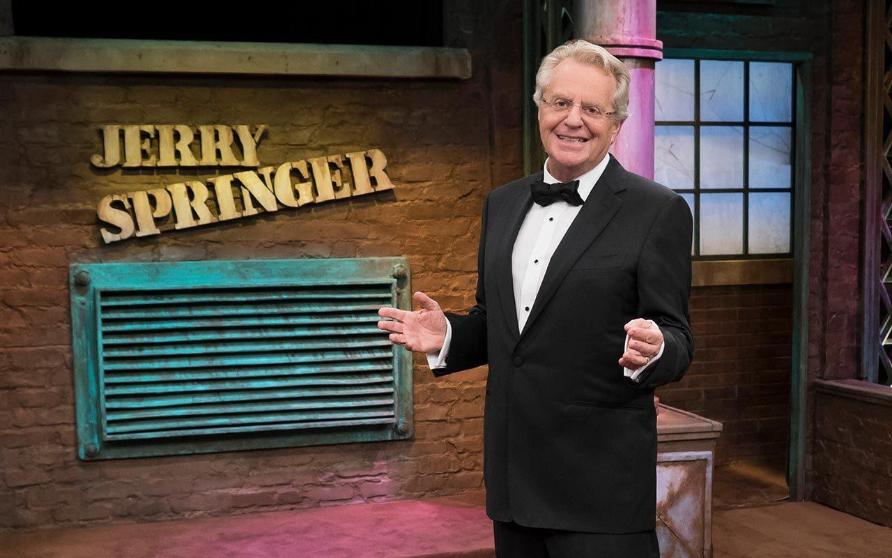 an analysis of psychological effects of the jerry springer show in its audience In this brief history of the tv talk show, we learn that, according to industry veterans, there are two types of chatter on american tv -- television talk, in which someone merely addresses the audience, and the talk show, featuring a familiar format, a quirky or popular host, and a slew of celebrity guests.